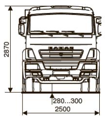 ШАССИ KAMAZ-65115-48 (А5) full