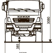 ШАССИ KAMAZ-43502-66 (D5) full