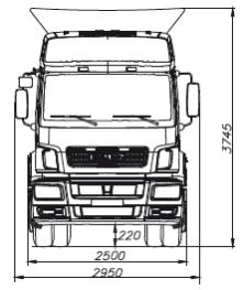 KAMAZ-5490-68 (T5) full