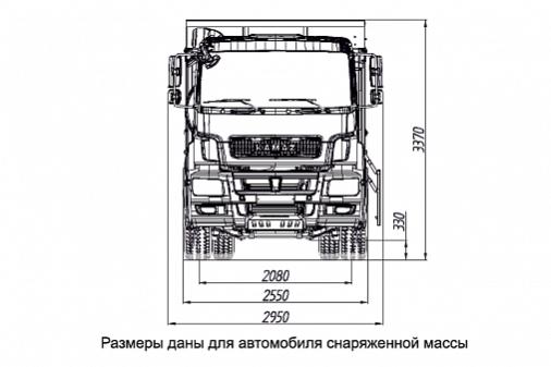 KAMAZ-6520-001-49 (B5) «ЛЮКС» full